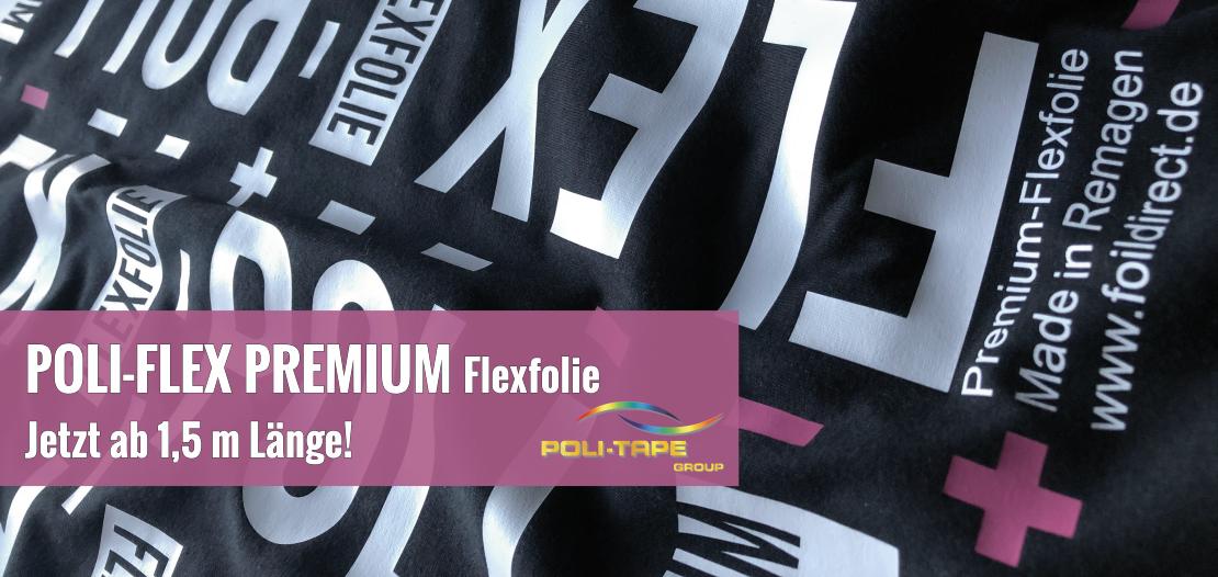 POLI-FLEX PREMIUM Flexfolie ab 1,5 m Länge
