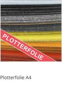 Plotterfolie Formatware A4