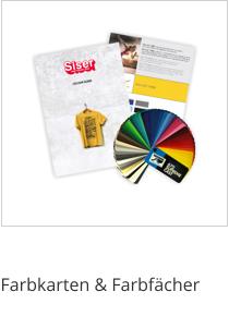 Werbetechnikzubehör - Farbkarten & Farbfächer